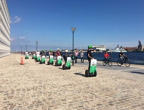1 Hour Guided Segway Tour: City Centre Ride in Copenhagen