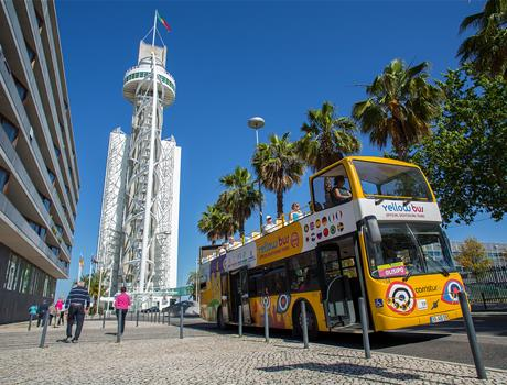 2-in-1 Lisbon Hop-On Hop-Off Bus Tour: Tagus and Olisipo (48h)