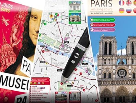 2 or 4 Day Paris Museum Pass + Audioguide Tours