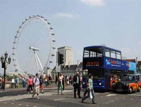 Hop-On Hop-Off London Bus Tour 1 Day Ticket
