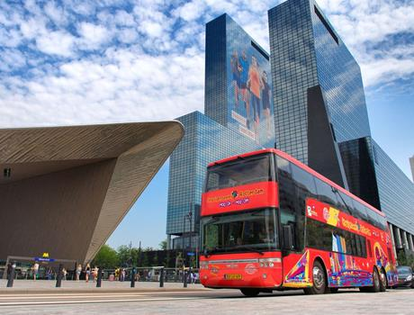 24 hours Hop on Hop off Tour from Rotterdam