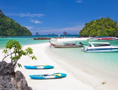 4 Islands Tour by Speed boat from Krabi