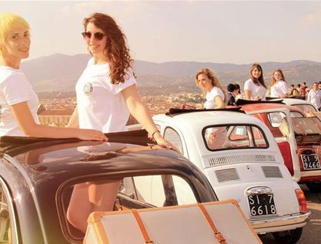 Florence: Explore the Chianti Region by vintage Fiat 500