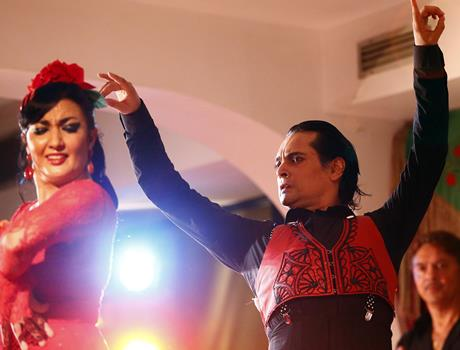 Madrid: Flamenco Masterclass Show with Drink at the Cafe de Chinitas