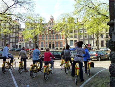 Amsterdam City Center Bike Tour