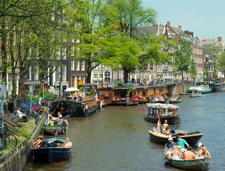 Amsterdam's Jordaan District Private Walking Tour