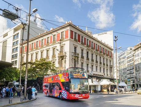 24 hours Hop-On Hop-Off Bus Tour from Athens