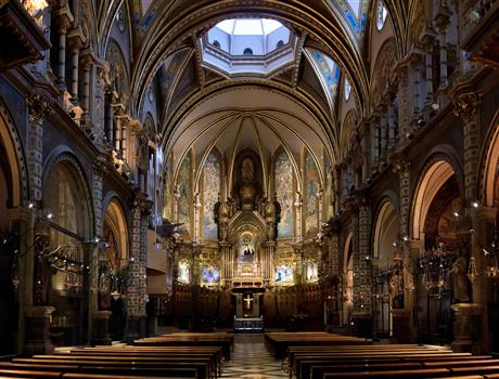 Full Day Trip to Montserrat AM & Artistic Barcelona PM