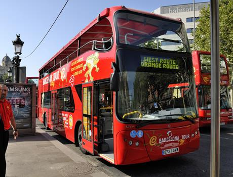 Barcelona: Hop-on-Hop-off City Tour 1 or 2 Days Ticket
