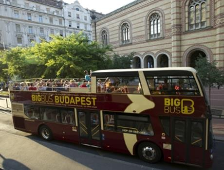 Big Bus Tours Budapest 48 h Hop-On Hop-Off Sightseeing Package