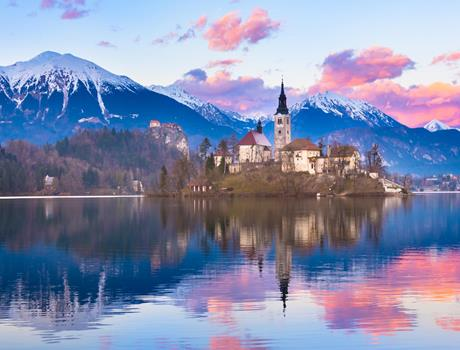 Private Tour to Lake Bled: an Alpine Pearl from Ljubljana