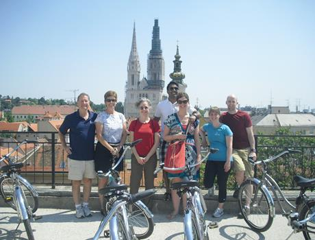 Ancient and New Zagreb Guided Bike Tour