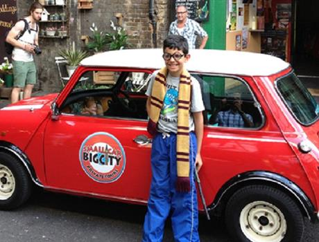 British Classic Car Tour - Harry Potter Film Locations from London