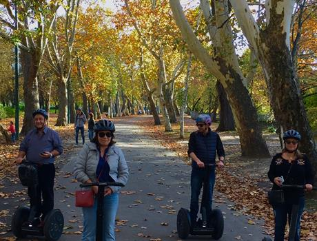 Budapest: 2,5-Hour Grand City Private Segway Tour