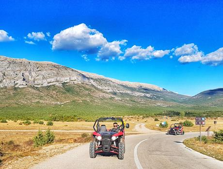 Buggy Expedition Tour in Sinj Area from Split