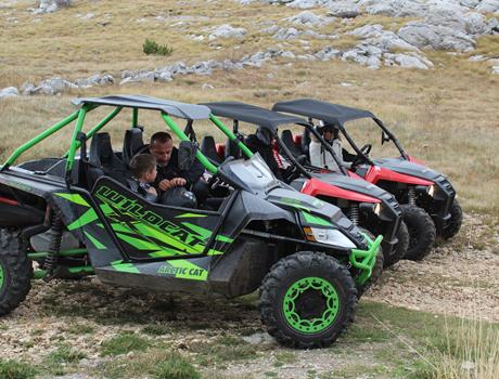 Buggy Mountain Adventure from Split and Sinj