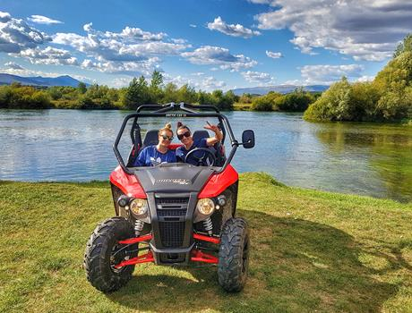 Buggy Adventure Along River Cetina from Split or Sinj