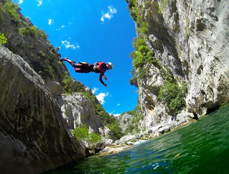Canyoning on the River Cetina from Omiš - Basic Level