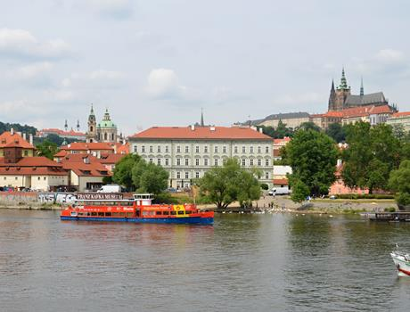 City Sightseeing Prague Bus + Boat Tour