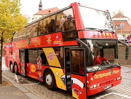 City Sightseeing Prague Bus + Jewish Quarter Walking Tour