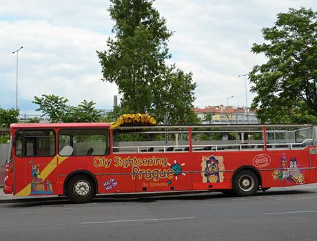 City Sightseeing Prague Bus + Prague Castle Walking Tour