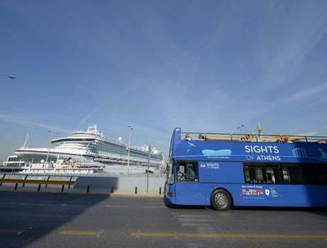 Combo Hop on Hop off Classic tour of Athens, Piraeus & Beaches