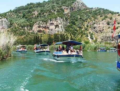 Dalyan Turtle beach from Marmaris