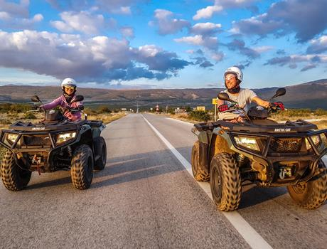 Dinara ATV Trail from Split