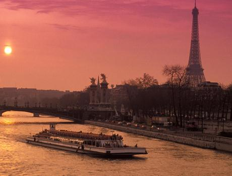 Dinner at the Eiffel Tower, Seine River Cruise & Lido Cabaret Show in Paris