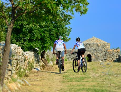 Discover History of Vodice on 2.5-Hour Bike Tour