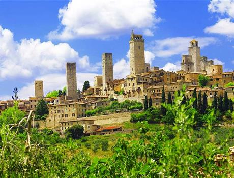Tuscany Tour: Pisa + San Gimignano + Siena from Florence