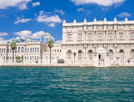 Dolmabahçe Palace & Two Continents from Istanbul Half Day Tour