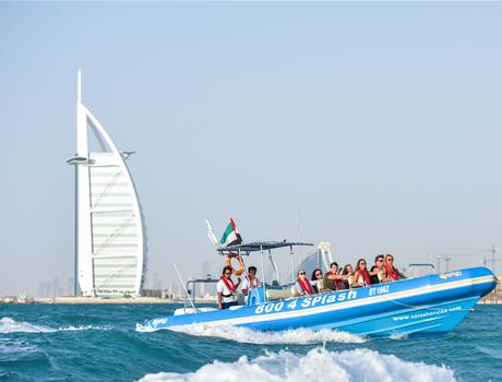Tour of Marina by Speedboat in Dubai