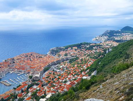 Dubrovnik City Tour with Panorama Drive and Sightseeing Walk