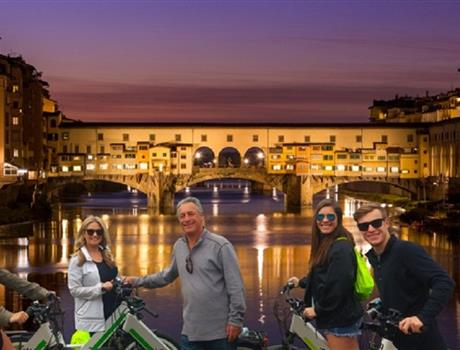 Electric Bike Night Tour from Florence