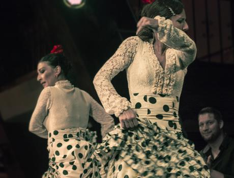 Madrid Tour: Flamenco Show with drink at the Corral de la Moreria
