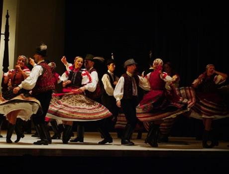 Folklore performance and Dinner Cruise from Budapest