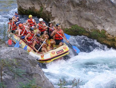 Exciting Rafting Tour - Cetina River from Split or Makarska Rivijera