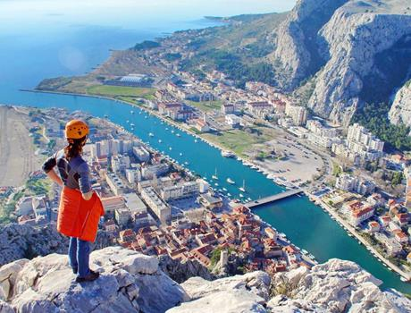 Experience Climbing on Fortica from Split and Omiš