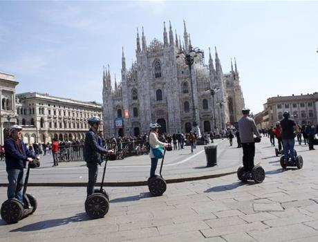 Experience Fun Segway Tour in Milan