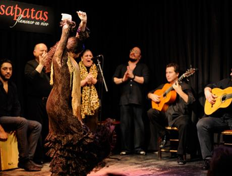 "Flamenco Show at ""Casa Patas"" from Madrid"