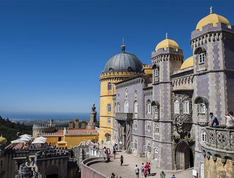 Half-Day Sintra & Pena Palace - Small Group