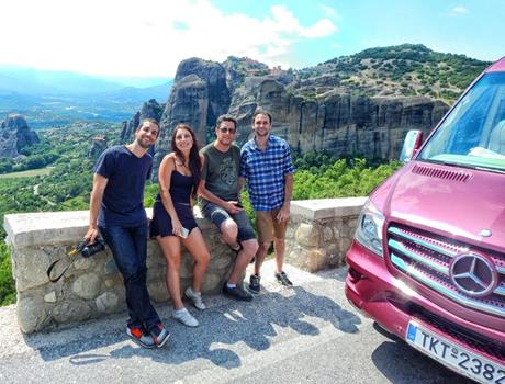 Full Day Tour to Meteora from Thessaloniki by Train