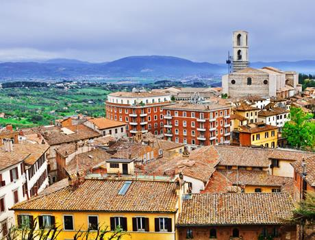 Full Day Tour to Assisi, Cortona & Perugia from San Gimignano