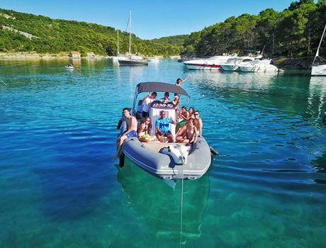 Full Day Private Boat Tour to Hvar, Brač and Šolta Islands from Split or Trogir