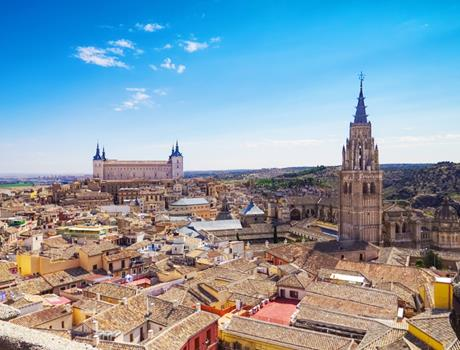 Full day to Toledo and Segovia from Madrid
