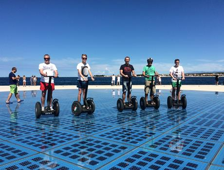 Fun Discovery of Zadar by Segway