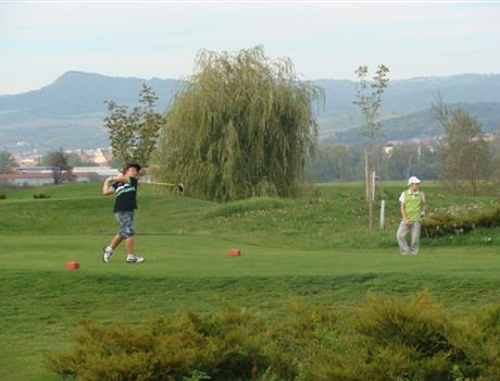 Terezin Golf course Kotlina from Prague