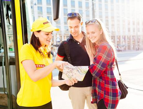Hop On Hop Off with Walk tour in Vienna