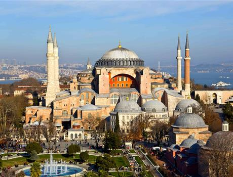 Half Day Tour of Hagia Sophia and Topkapi Palace from Istanbul